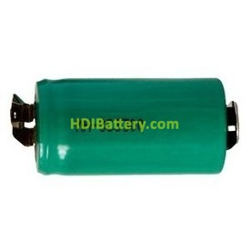 Bateria Sub-C 1.2 Voltios 3.000 mAh NI-MH 42,7x23mm C-lenguetas